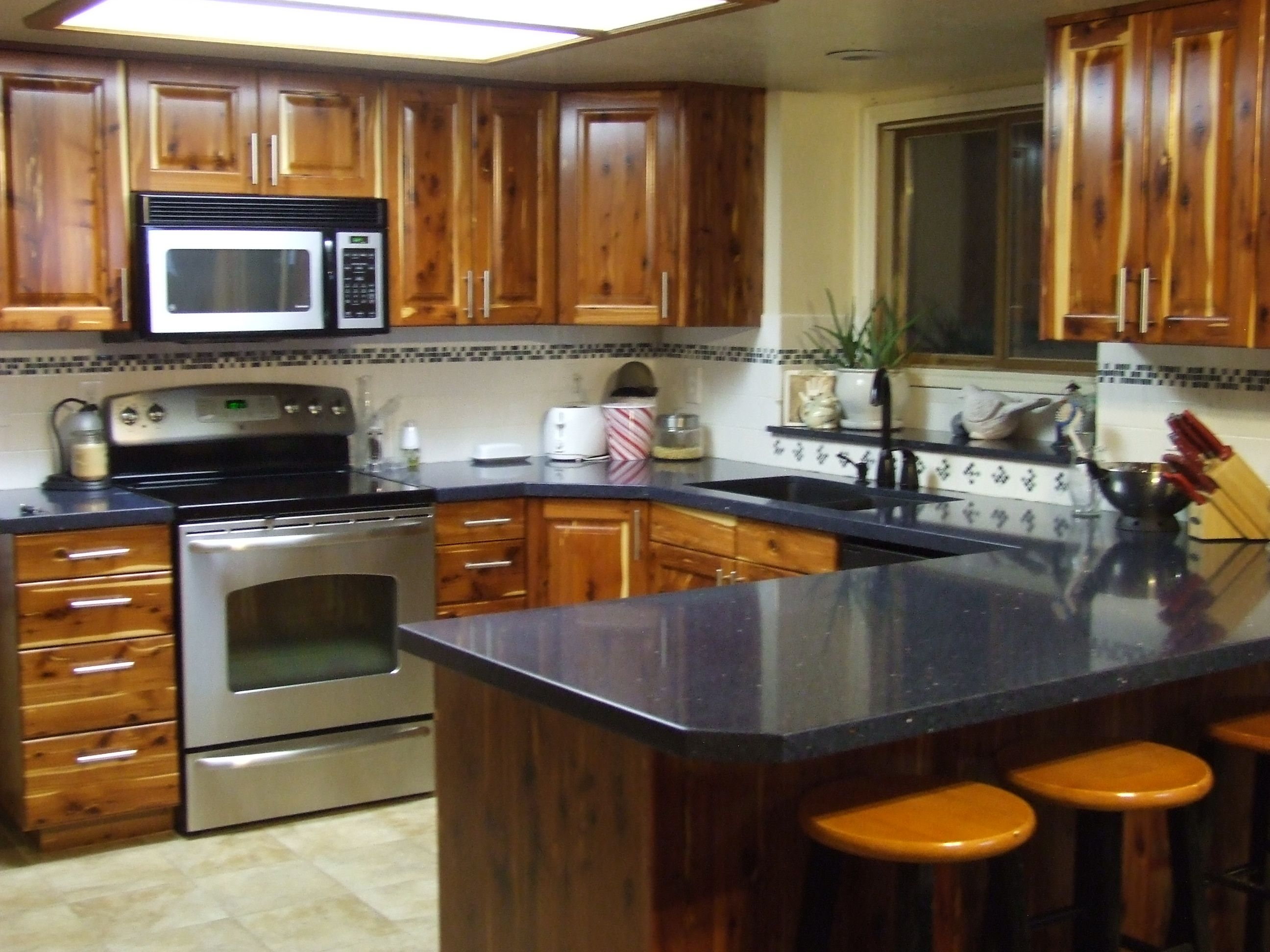 Red Cedar Kitchen Joe Might Build Me One Kitchen Remodel Kitchen Kitchen Remodel Before And After