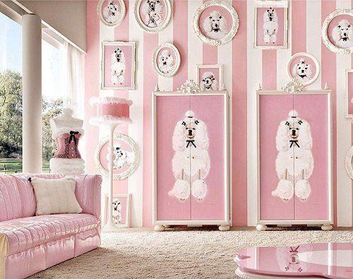 Decorating theme bedrooms – Maries Manor: Pink Poodles of fun bedroom decorating… Genç Odası