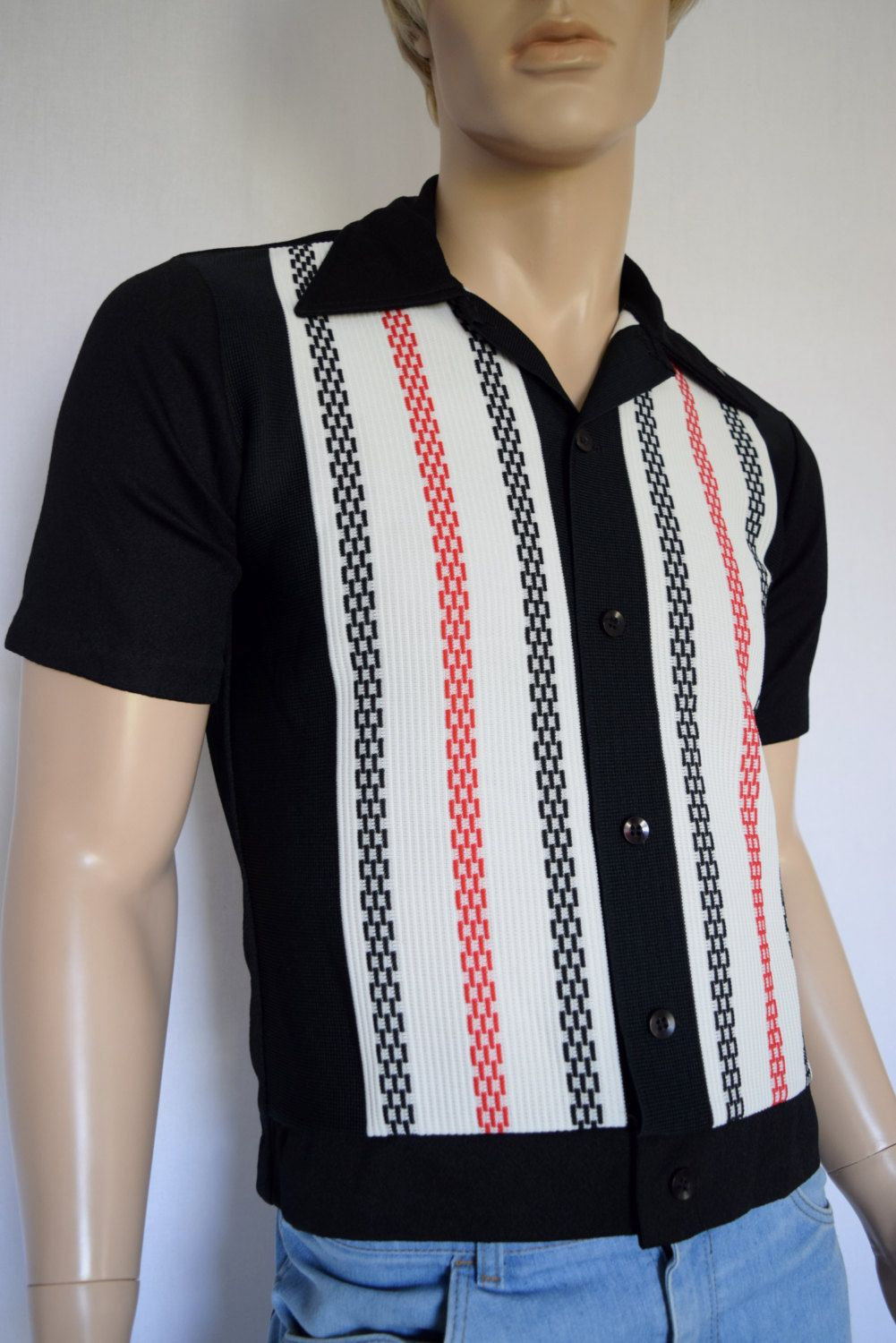 Vintage 1950's 60's ReTrO Men's Sears Kings Road Knit ...