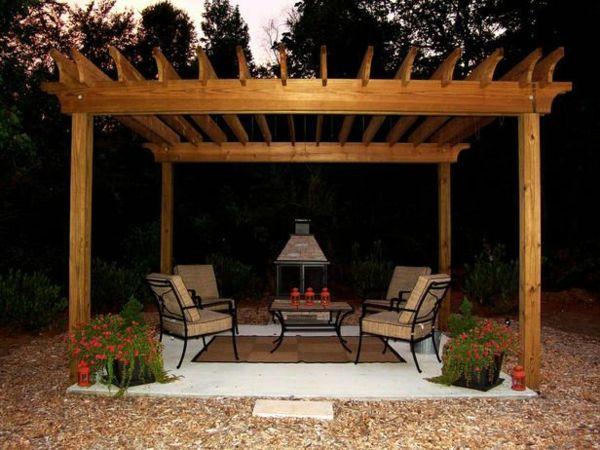 garten designideen pergola selber bauen gartengestaltung diy pergola patio. Black Bedroom Furniture Sets. Home Design Ideas