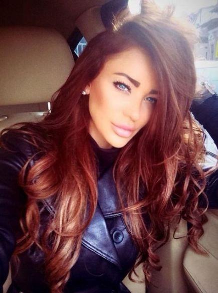 41+ Ideas For Hair Brunette Red Haircolor #hair | Dark ...
