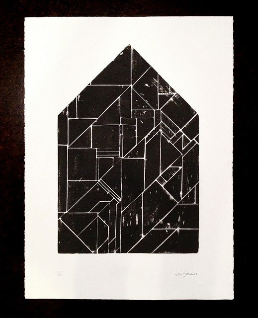 New wood block print by Drew Tyndell.