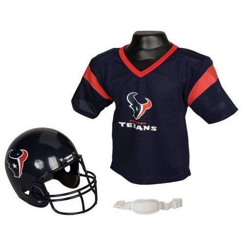 new products 6e181 eedb0 Houston Texans Youth NFL Helmet and Jersey Set by Franklin ...