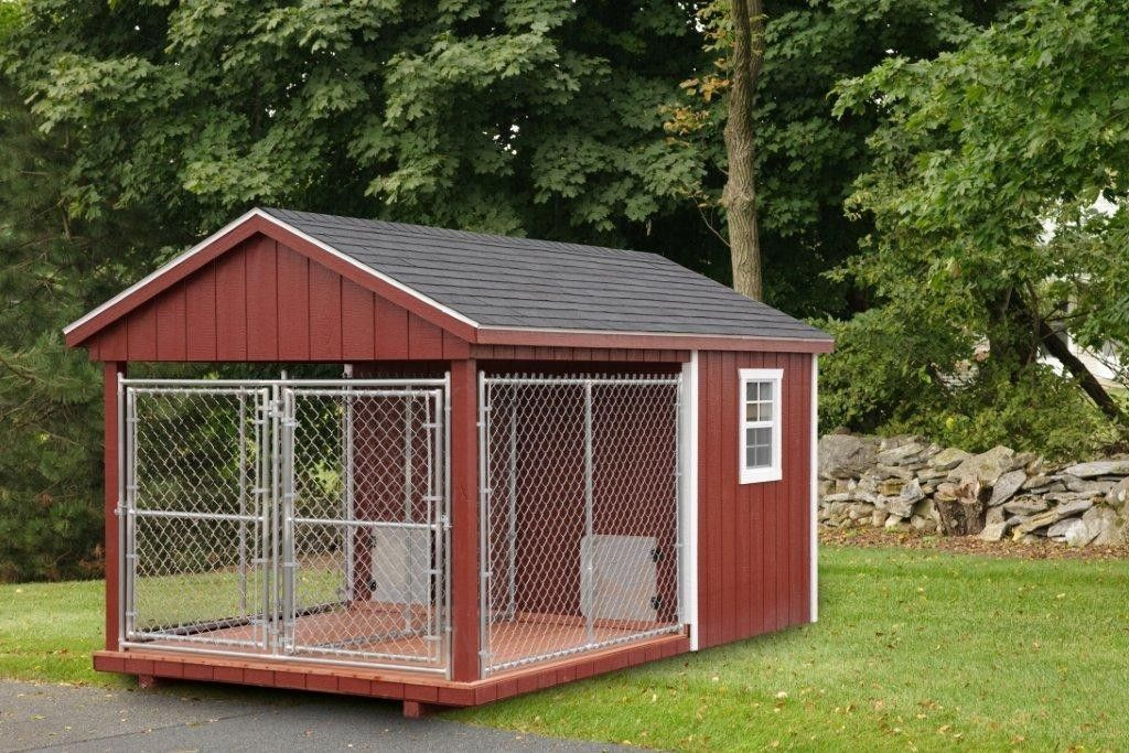 Insulated Dog Kennels Helmuth Builders Supply With Images