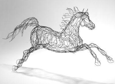 Elizabeth Berriens Wire Sculpture