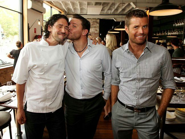 Colin Fassnidge, Manu Fieldel, Pete Evans - MKR too many babes ...