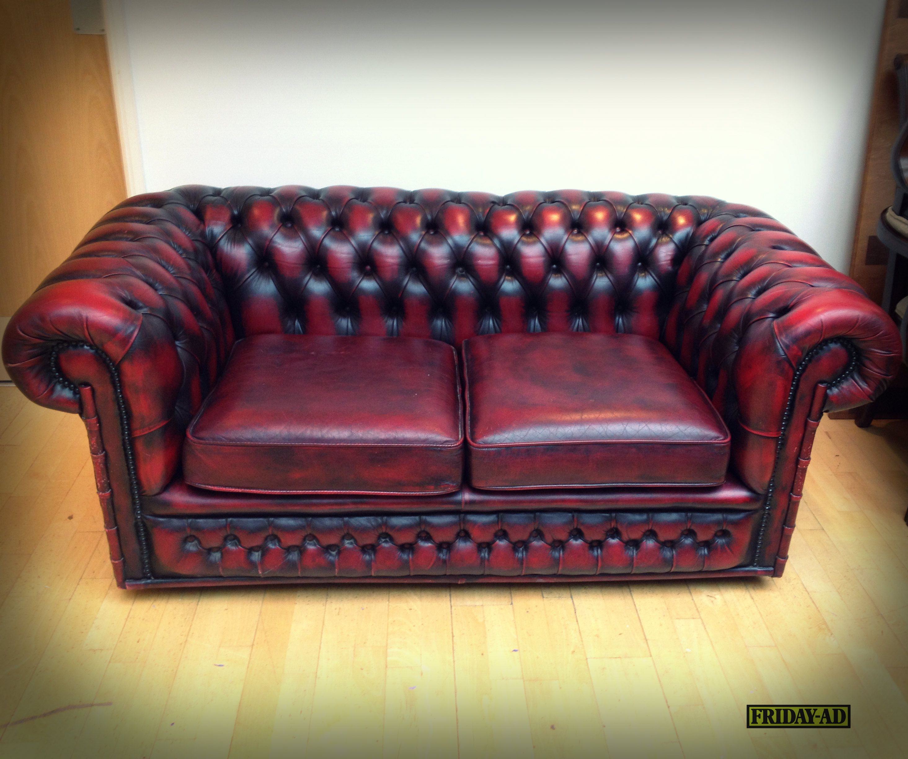 Vintage Chesterfield Sofa! What a great find, only £170