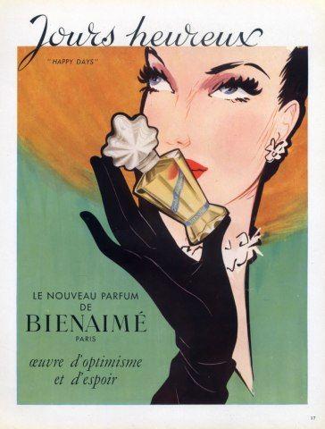 Bienaime perfime, 1949