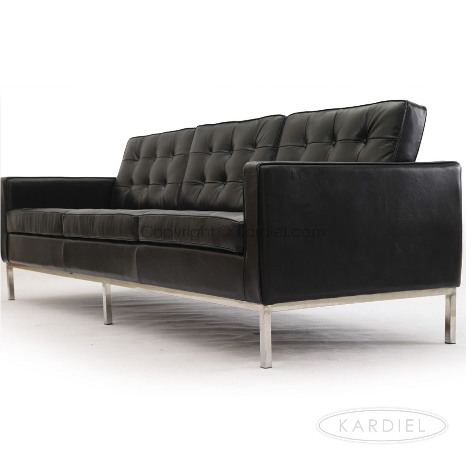 Terrific Florence Knoll Sofa Settee Reproduction Style 3 Seater Download Free Architecture Designs Scobabritishbridgeorg