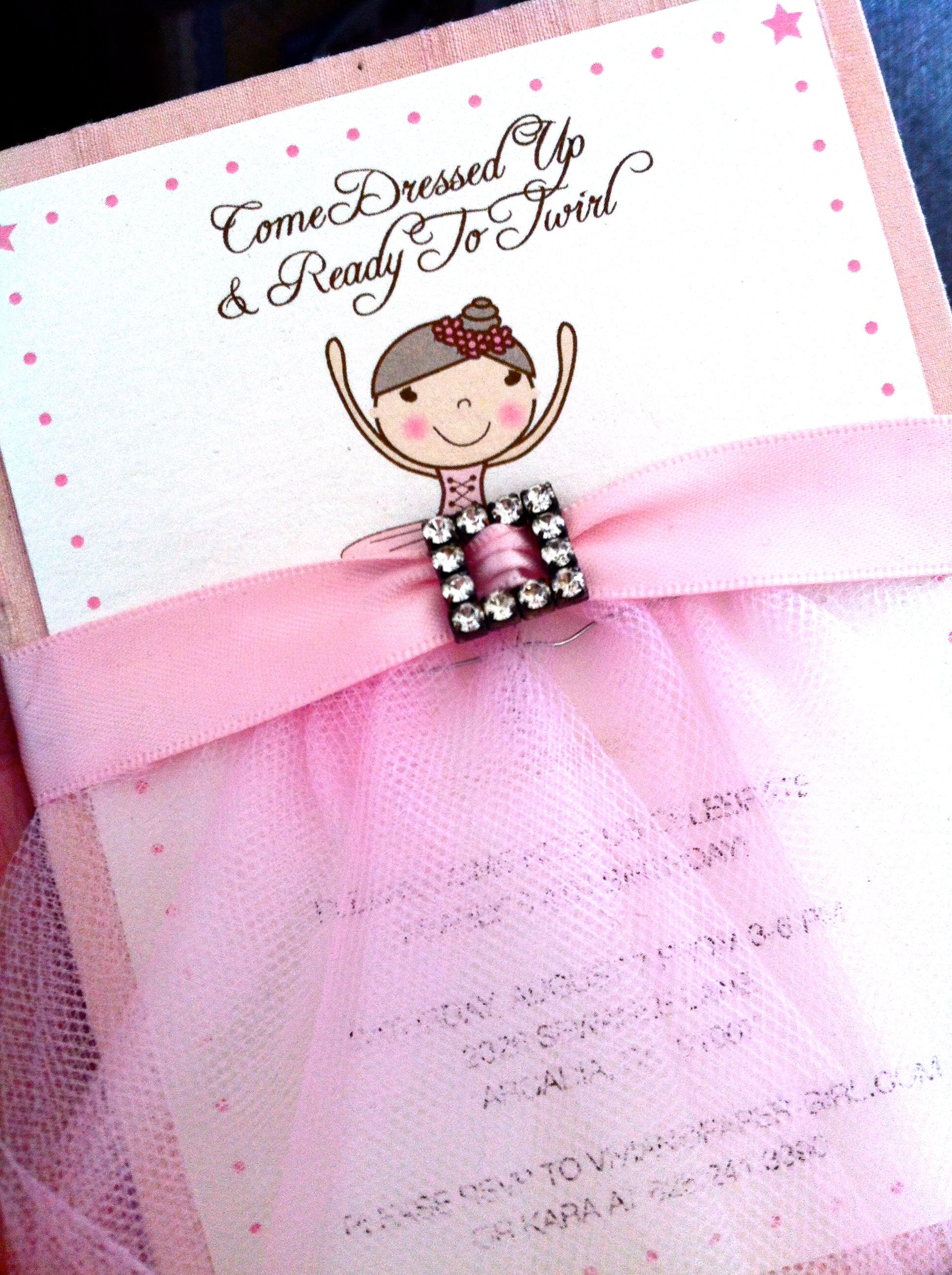 Pretty in Pink Ballerina Party