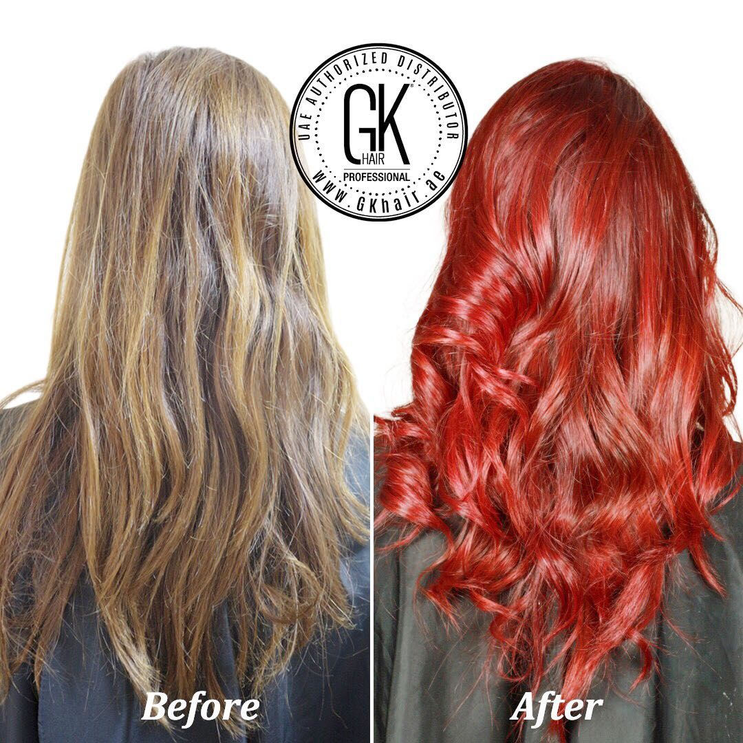 Cherry Color With Gkhair Juvexin Cream Color Formula666 766