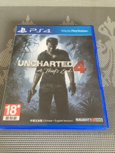 Uncharted 4: A Thief's End  (Sony PlayStation 4 2016) https://t.co/ckb7iUzuN5 https://t.co/H1oefungR0
