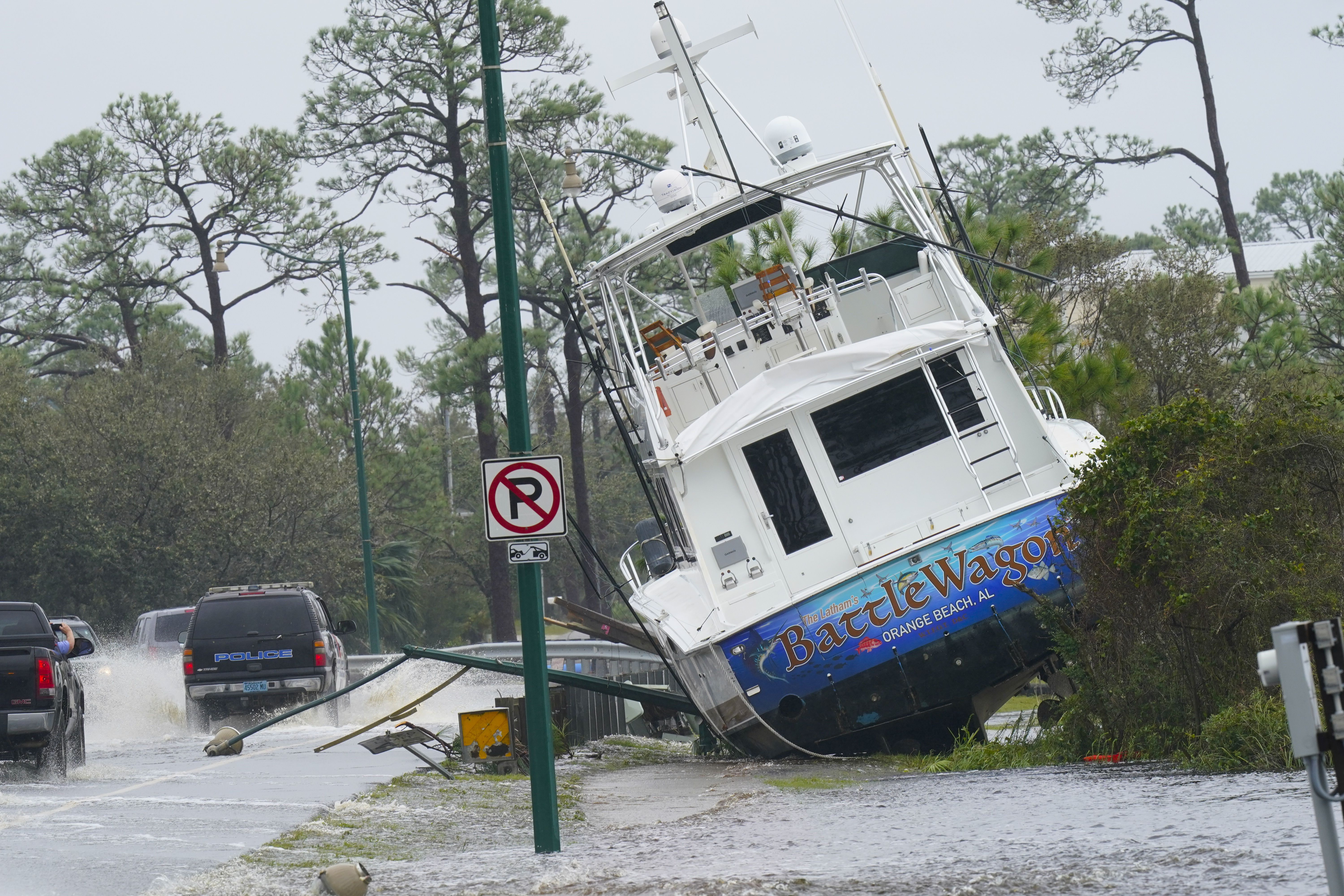 Fox News Damage From Hurricane Sally Captured In Photos Video Report