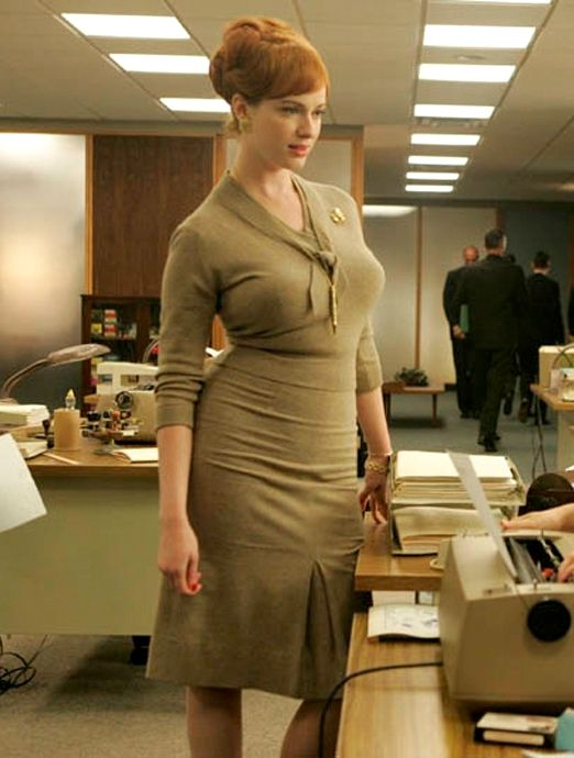 af34c0761d8f Joan holloway of mad men - Christina Hendricks Sweater Girl look - Secrets  In Lace Bullet Bras create the perfect look