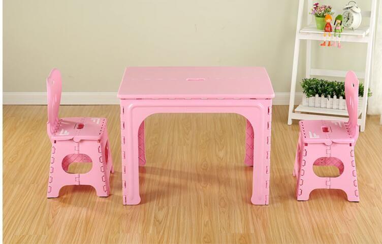 Tavolo Plastica ~ Tavolo per bambini la scuola materna di plastica pieghevole