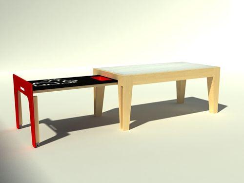 Prototipos de mobiliario infantil de Baalbek Studio | Infantiles ...