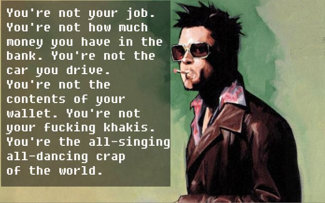 10 Powerful Quotes By Tyler Durden From \'Fight Club\' That\'ll ...
