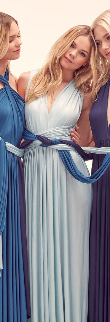 Infinite By Wed2b A Collection Of Mix And Match Bridesmaids Dresses In Variety Colours