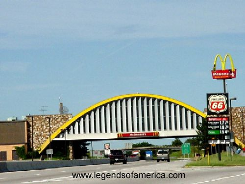 Formerly The World 39 S Largest Mcdonald 39 S Arched Over I 44