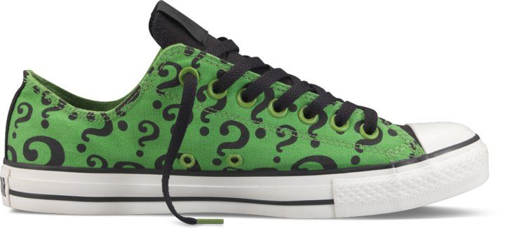 90560fe49bc7 All Star DC Comics- The Riddler thestylecure.com (from batman)These shoes  are really super awesome!