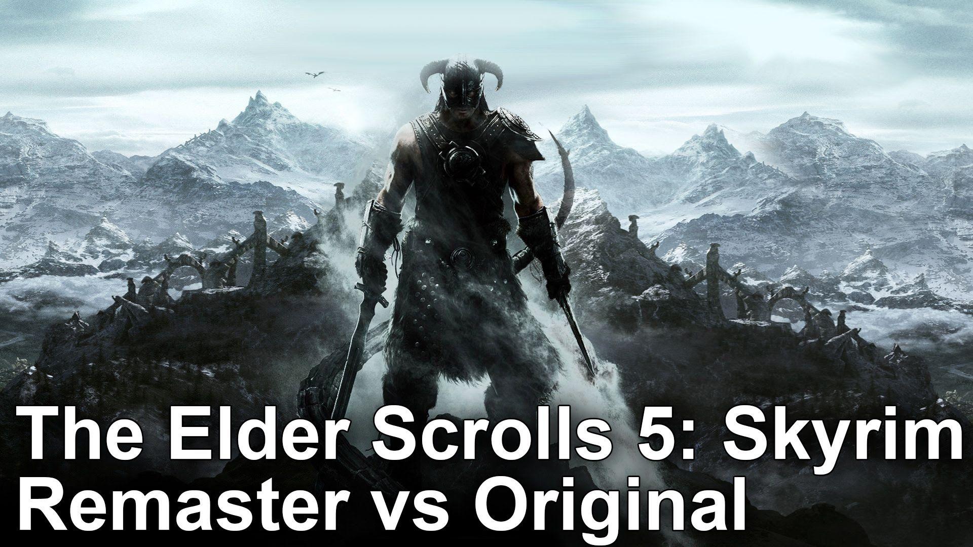 The Elder Scrolls 5: Skyrim Special Edition vs Original