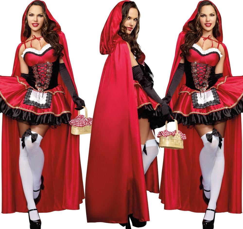 Cheap Envío gratis Hot Sexy Halloween Vampire Gothic reina equipado trajes  de vestir vestido y la capa guante para mujeres 1e1da49d4911