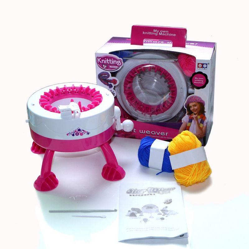 Manual Diy Baby Knitting Machine Toy For Girls Kids Weaving Hat Knit
