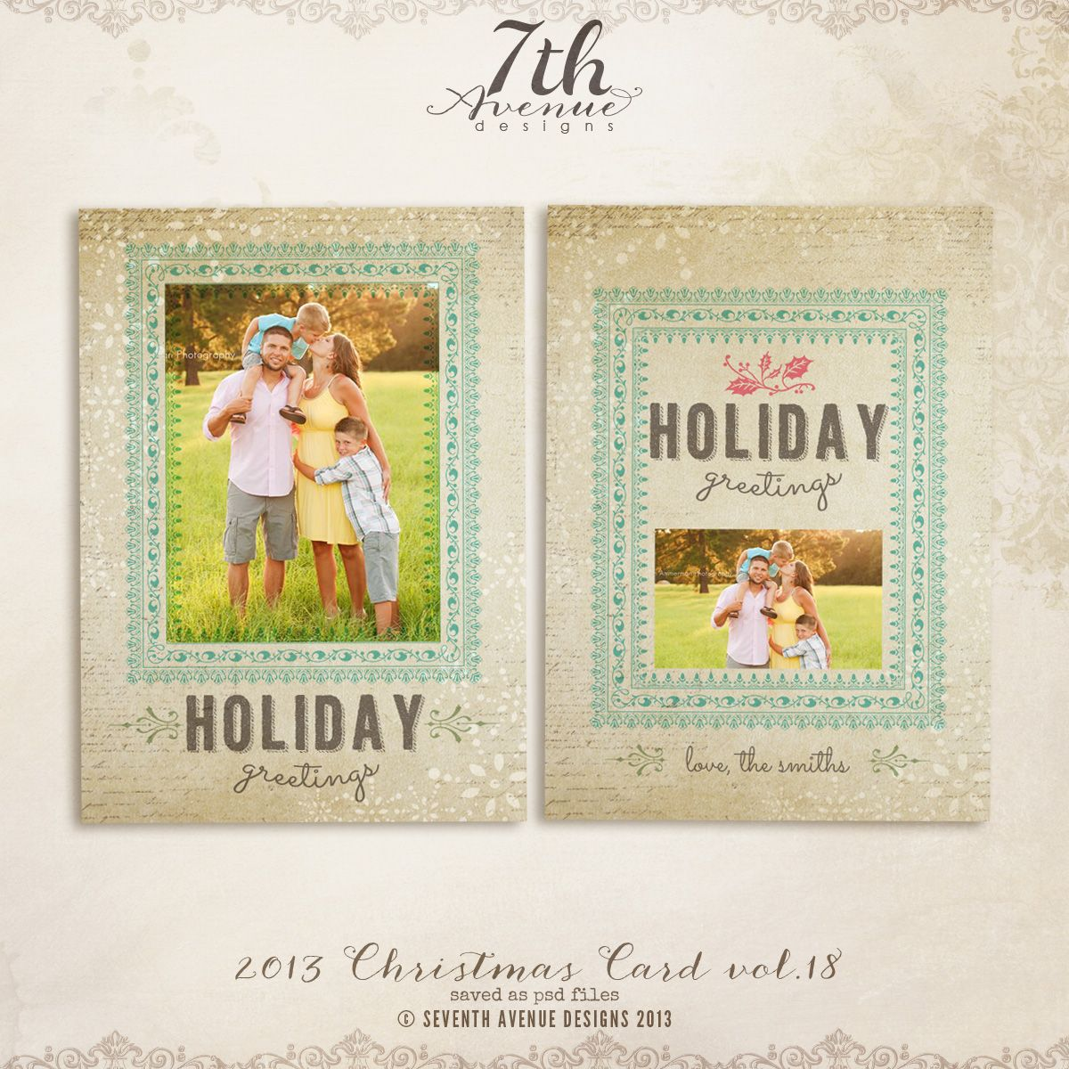 2013 Christmas Card Templates vol.18 | DIY || Where R U Christmas ...