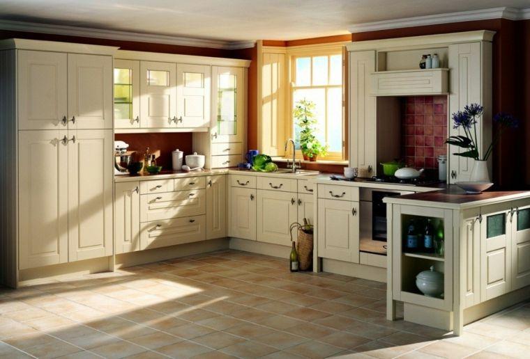 Decoración de cocinas antiguas - 38 ideas geniales | Decoración de ...