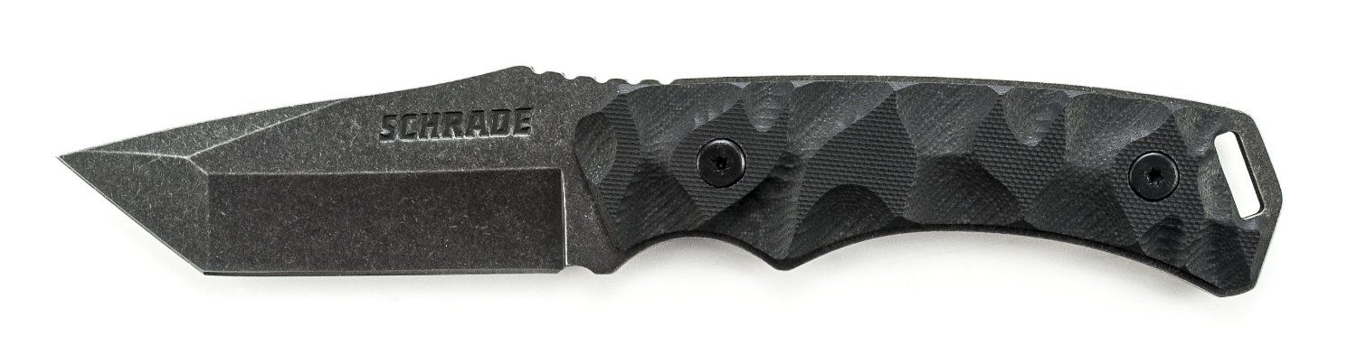 Amazon com: Schrade SCHF15 Re-Curve Tanto Fixed Blade Knife with