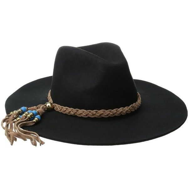 ale by alessandra Women s Gaucho Adjustable Floppy Felt Hat with... ❤ liked  on Polyvore featuring accessories 6077c1493f3e