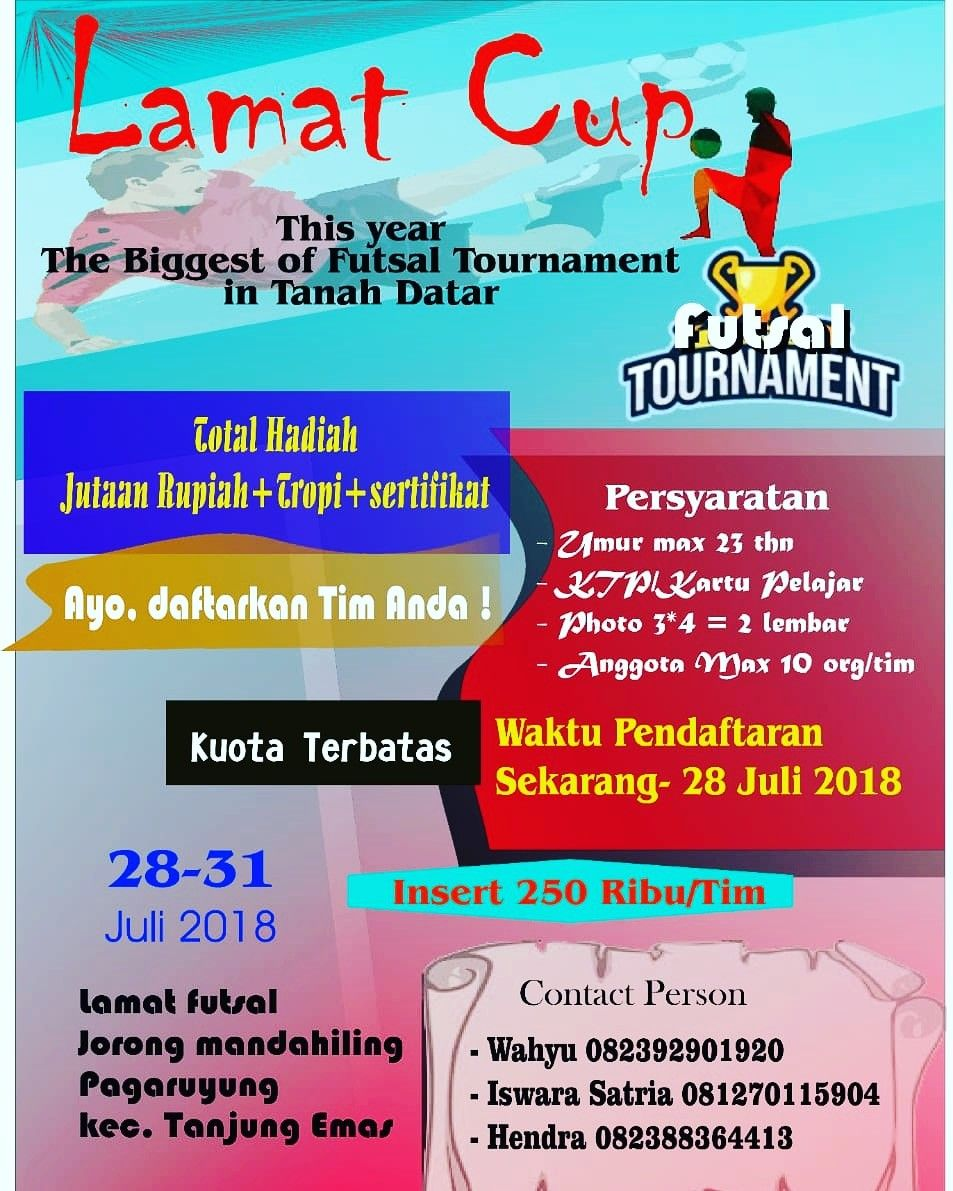 Poster Futsal Brosur Poster