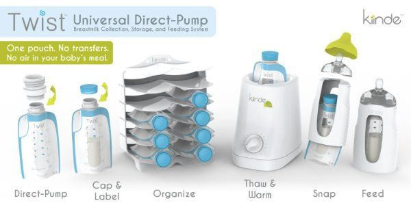 Twist Breastfeeding Starter Kit:Amazon:Baby love this idea to make breast feeding so much nicer so I bought one
