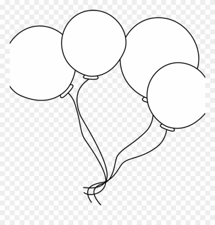 Balloons Clipart Black And White 10balloonsclipartblackandwhite Balloonsclipartblackandwhite Birthda Balloon Clipart Clipart Black And White Black Balloons