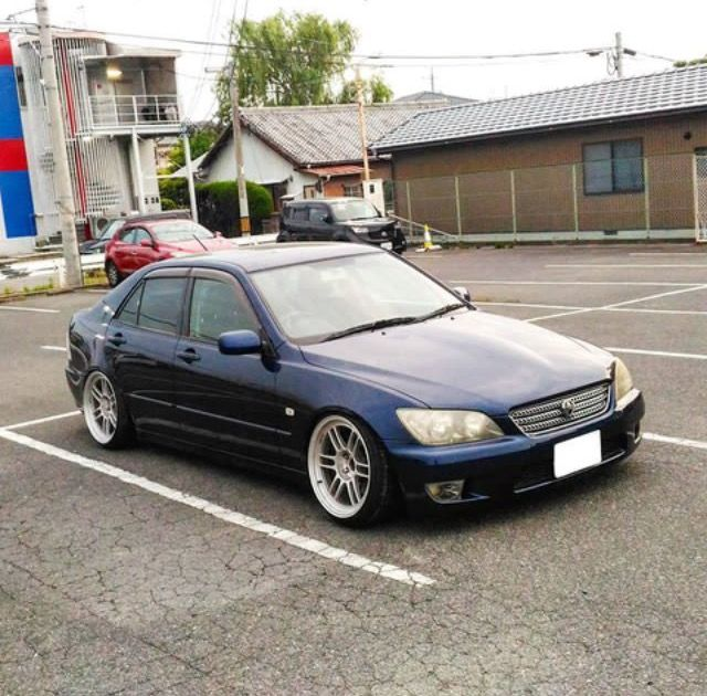 Toyota Altezza Lowered Stance Fitment Lexus Is300 Pinterest