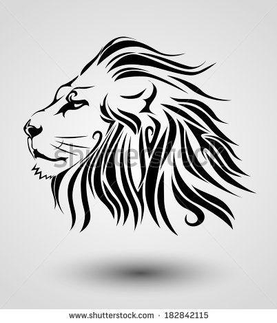 Tribal Lion Tattoo Ideas Lion Tattoo Tattoos Tribal Lion
