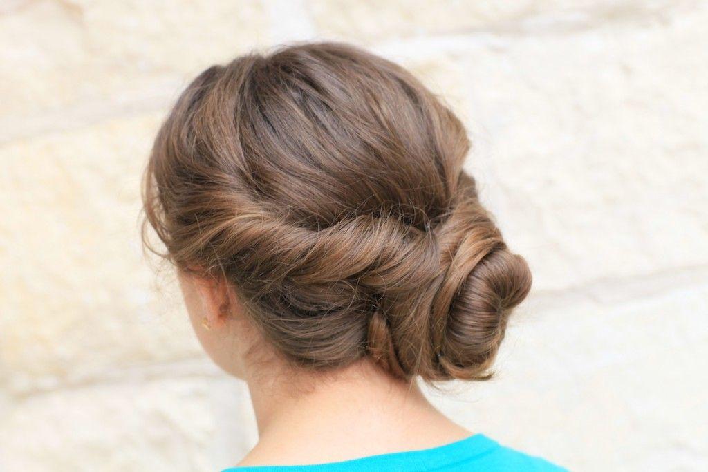 Bunte Haare » Easy Twist Hochsteckfrisur