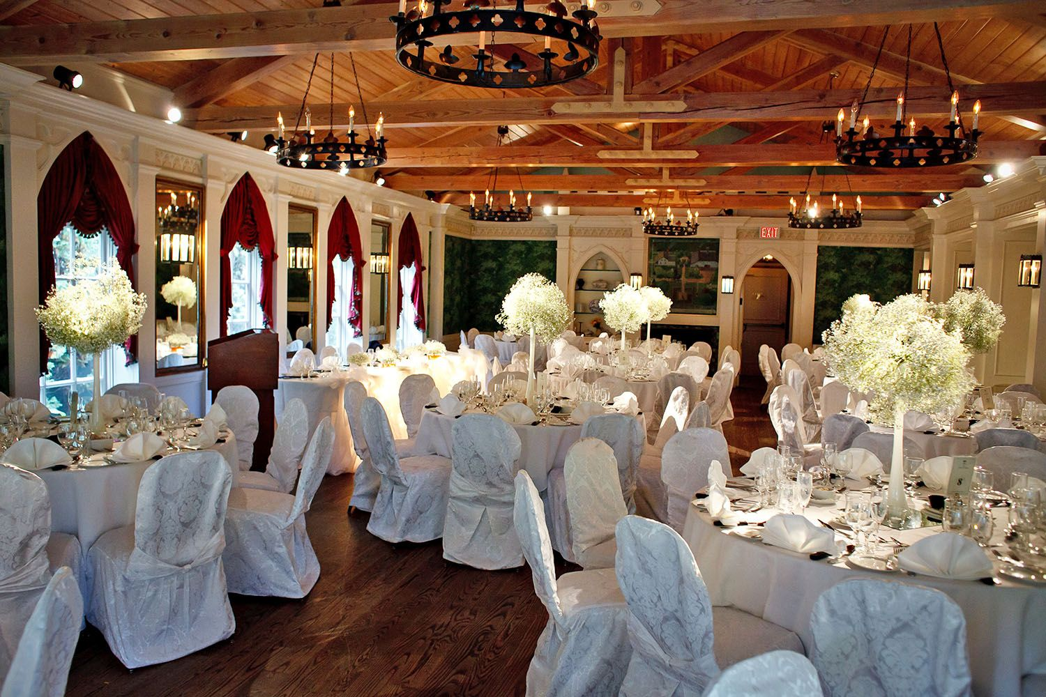 wedding reception venues cost%0A Weddings    The Doctor u    s House in Kleinburg  ON  Several reception venues to  choose from at this