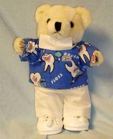 Dental Hygienist Bear Dont Forget To Brush Teddy