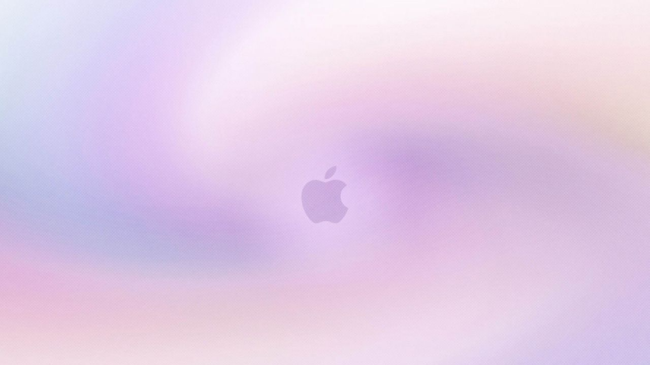 Pin On Ipad Pro Others Wallpaper: Light Purple Apple Logo Wallpapers HD