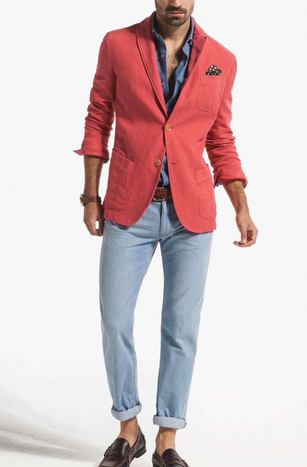 077c9348c Pin by William Lee on Spring & Summer GEAR | Cotton blazer, Blazer ...