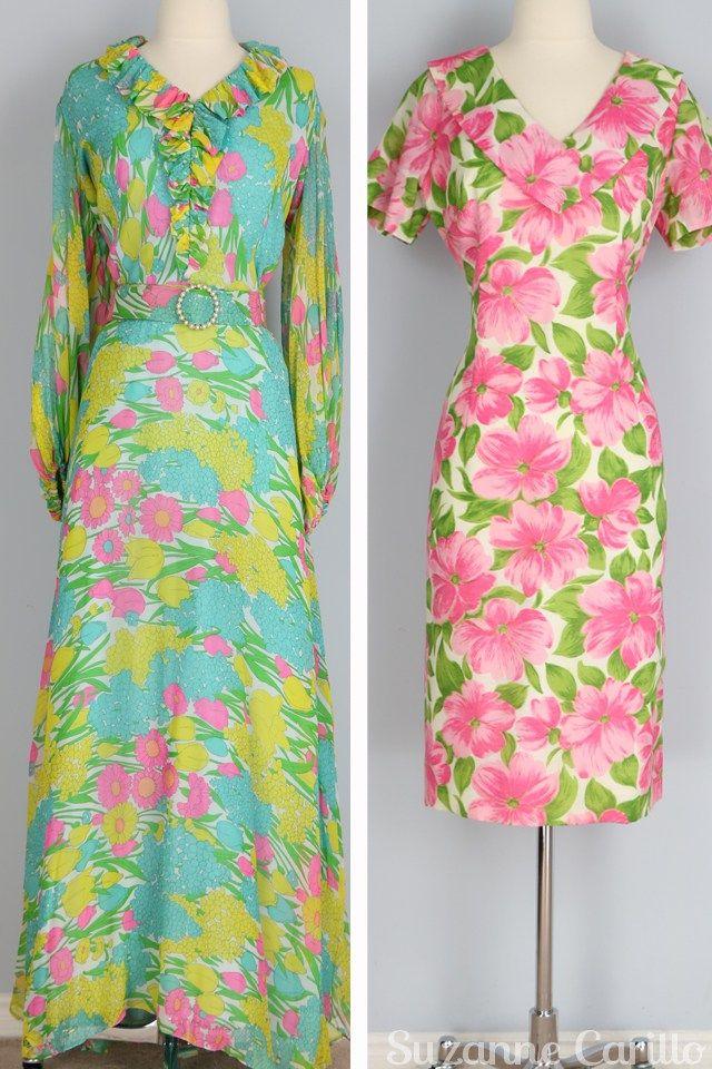 spring vintage dresses for sale vintagebysuzanne on etsy 1970s vintage fashion for spring