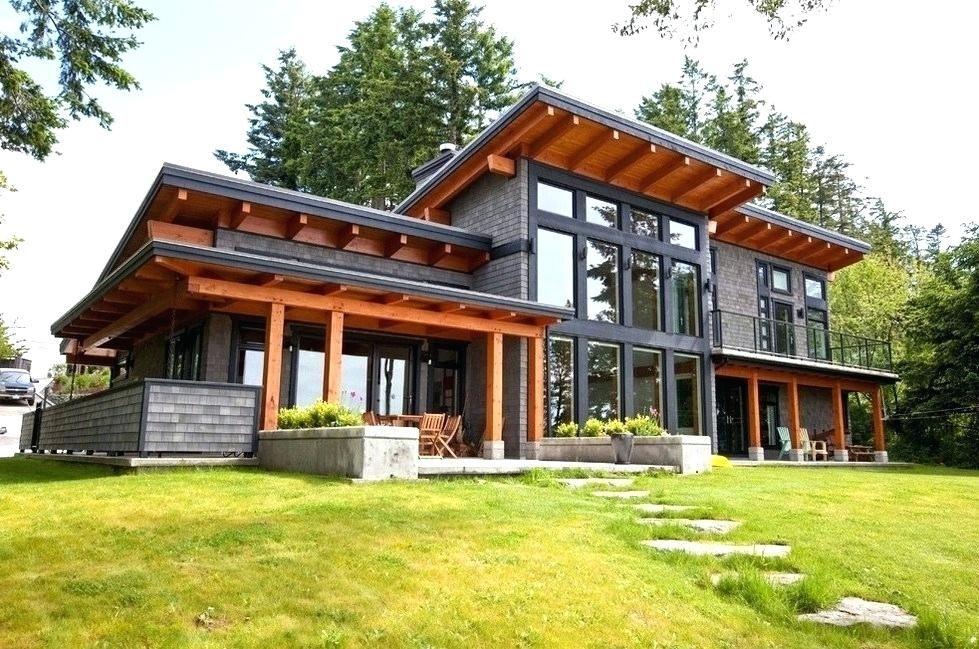 Home Plans With Daylight Basement Modern Daylight Basement House