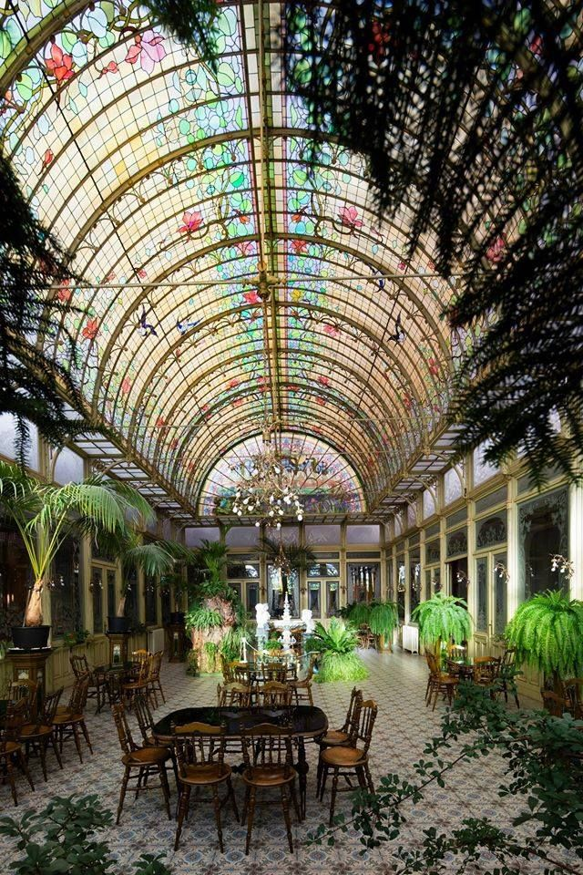 Belle Epoque To Art Deco The First 40 Years Of 20th Cent 52 Mins Jardin D Hiver 1900 Couvent Des Ursulines Wavre Notre D Jardin D Hiver Jardins Art Nouveau