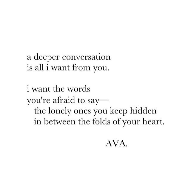 A deeper connection listenupjenn Pinterest Poetry quotes - best of is invitation to tender