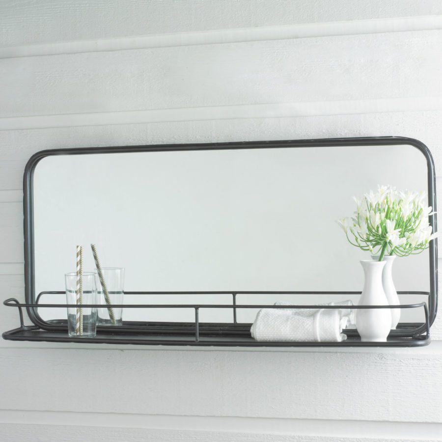 Diese 15 Badezimmer Spiegel Verwandeln Ihre Morgenroutine Neue Dekorationsideen Miroir Etagere Salle De Bains Shabby Chic Decorer Miroir