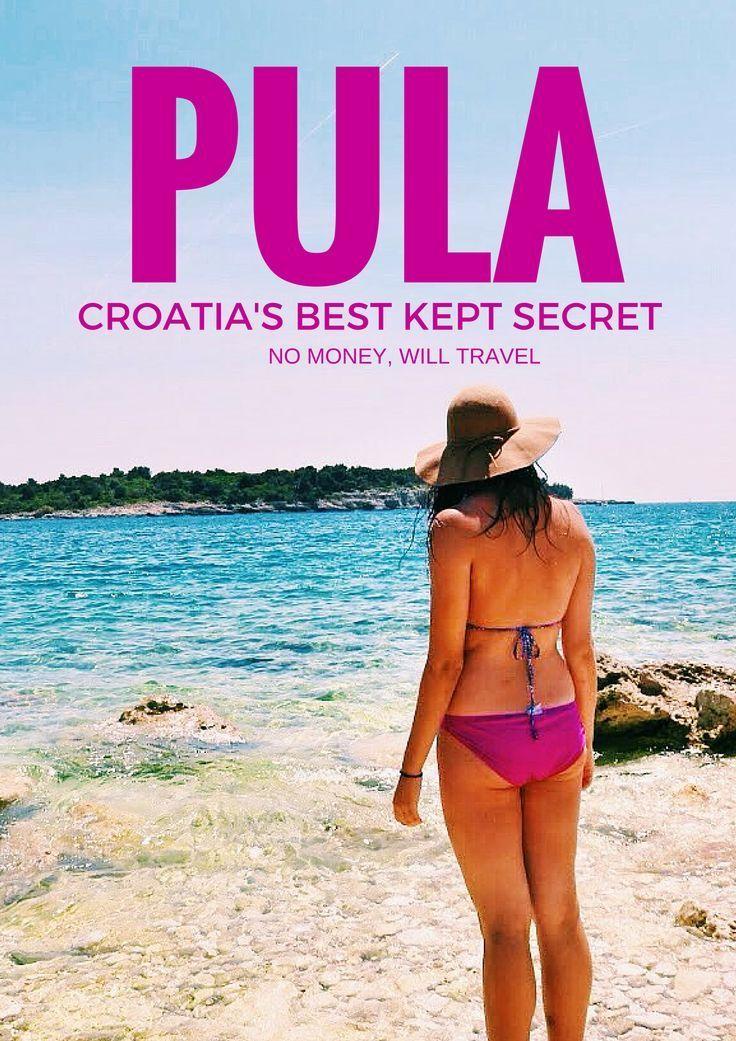 Pula, Croatia's best kept secret || Get more travel inspiration and tips for visiting Croatia at http://www.holidaystoeurope.com.au/home/resources/destination-articles/croatia