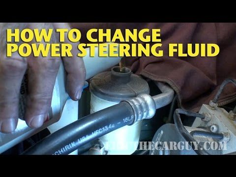 How To Change Power Steering Fluid Ericthecarguy Car Repair Diy Automotive Repair Car Maintenance