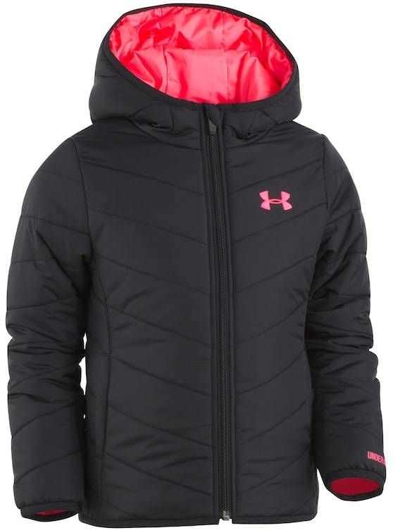 80a75ef22031 Toddler Girl Under Armour Midweight Black Premier Puffer Jacket ...