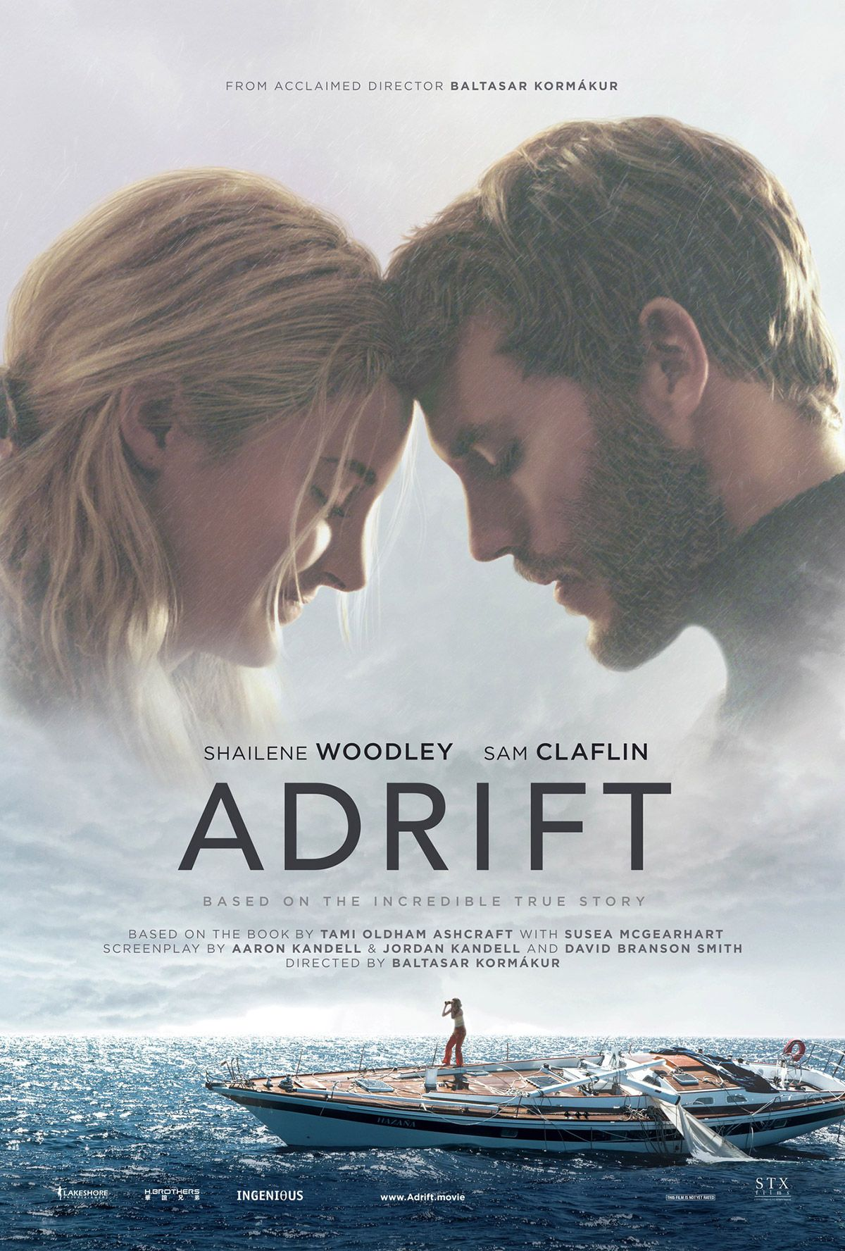 Compelling and life-affirming, Adrift is a real-life survival story that ends on an upbeat note after tragedy struck...Emotional and draining it will make you wonder what you have been doing with your life.